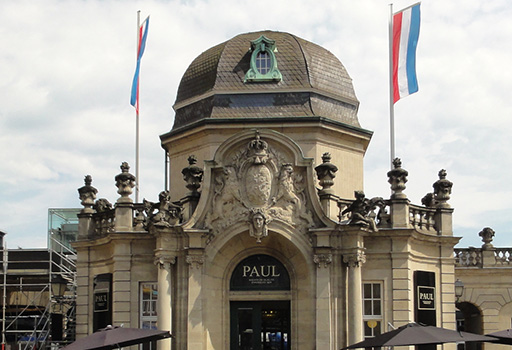 Pavillon grand-ducal gare Luxembourg